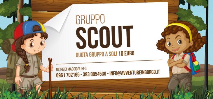 Gruppo Scout a soli 10 €